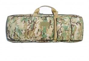 Чехол оружейный TA с подсумками и рюкзачн.лямками 120см мультикам