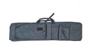 Чехол оружейный TA с подсумками и рюкзачн.лямками 120см черный