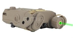 Контейнер для аккумулятора FMA PEQ15 Battery Case/Green laser Desert