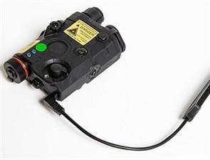 Комплекс тактический FMA PEQ LA5 Upgrade Version LED White Light + Green Laser With IR Lenses Black