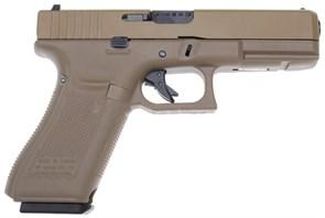 Пистолет газовый WE Glock 17 gen.5 тан