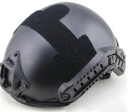 Шлем WST реплика FAST MH-type черный L/XL