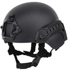 Шлем WST ACH MICH 2000 с рельсами черный