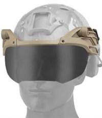 Забрало для шлема WST тан