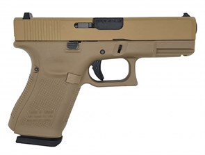 Пистолет газовый WE Glock 19 gen.5 тан
