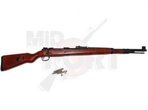 Винтовка газовая Diboys Mauser KAR-98K металл, дерево, грин-газ