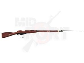 Винтовка газовая King Arms Mosin-Nagant 1891/30 (Мосинка) грин, дерево, сталь