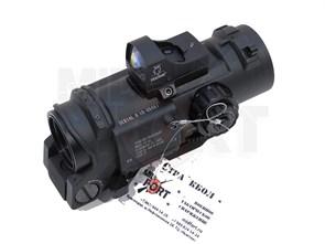 Прицел оптический Elcan Specter 4x32 + коллиматорный прицел Mini Doctor