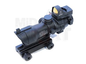 Прицел оптический ACOG 4x32 CM с коллиматорным прицелом Doctor
