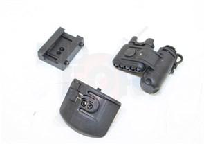 Фонарь на каску MICH helmet light VER II Element (EX029) /черный